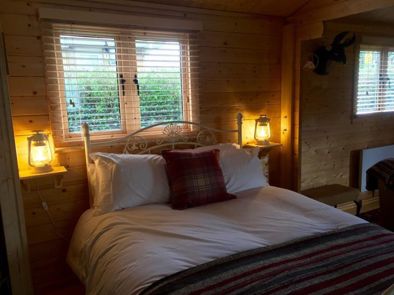 Cosy and comfortable double bed