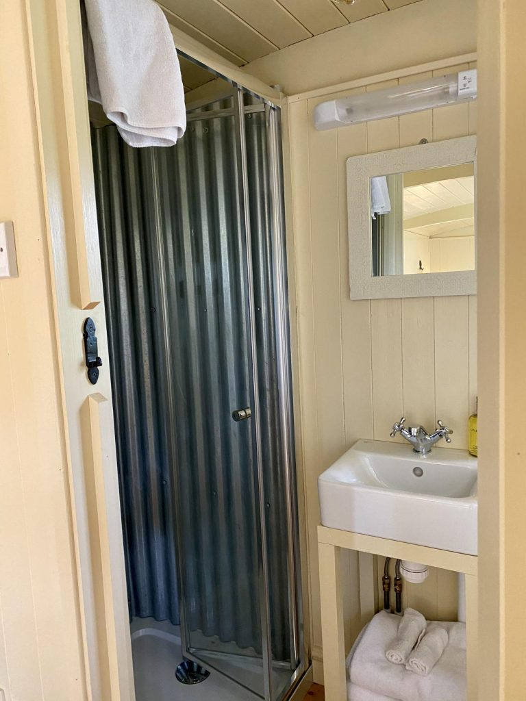 Ensuite shower room and toilet