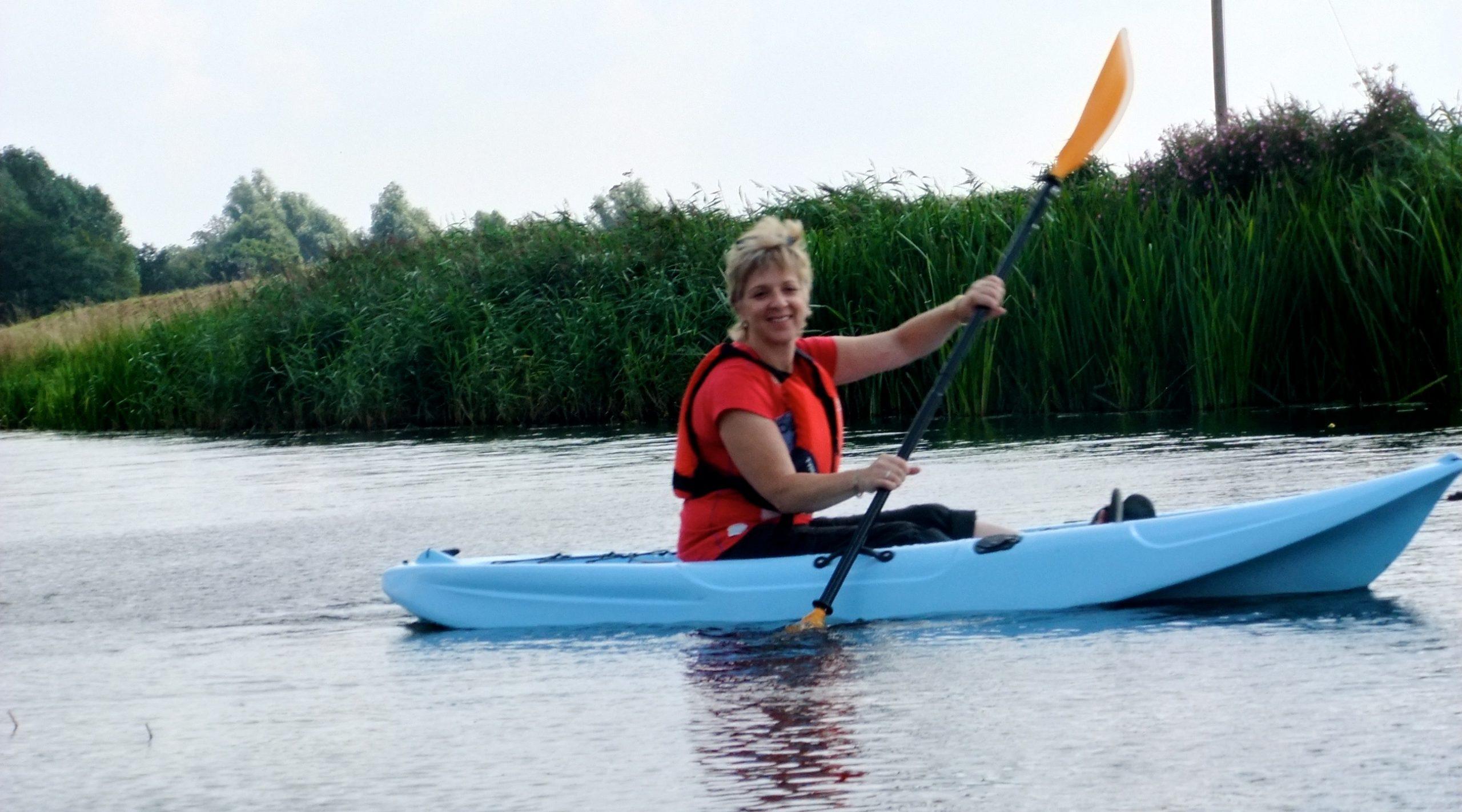 kayak hire in Cambridgeshire at Fourwinds Leisure