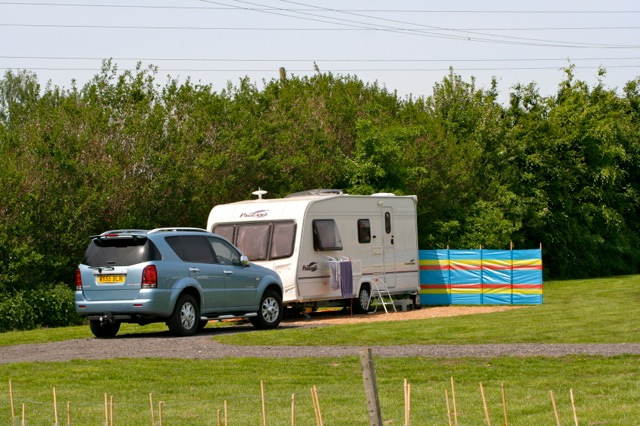 camping at Fourwinds Leisure, March Cambridgeshire